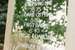 Wedding Events Schedule