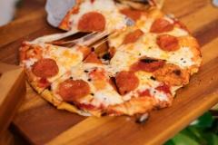 Fresh Made Pepperoni Pizza