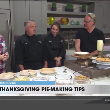 See Kelly and Kamryn on Fresh Living TV For The Greatest Pies in Utah